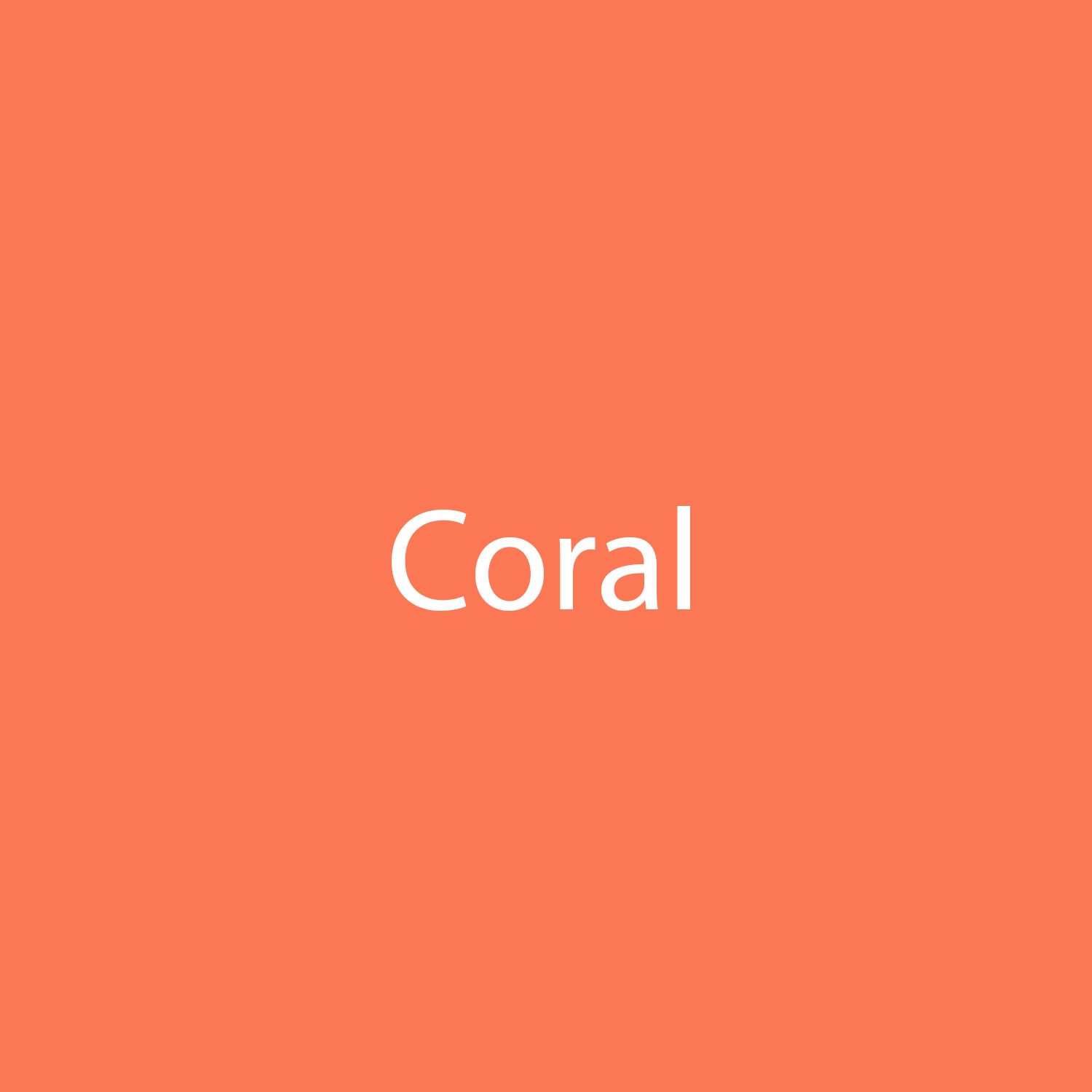 StarCraft SD Removable Matte Adhesive - Coral
