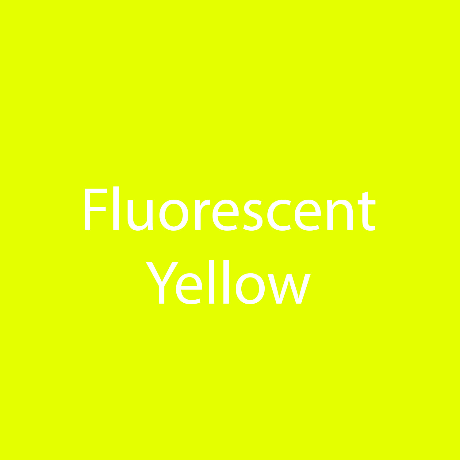StarCraft SoftFlex HTV - Fluorescent Yellow