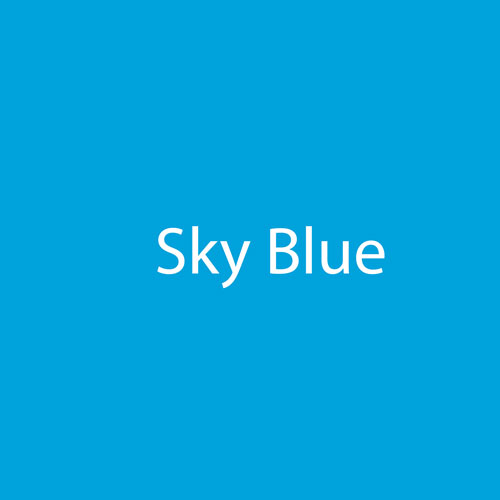 StarCraft HD Glossy Permanent Vinyl - Sky Blue