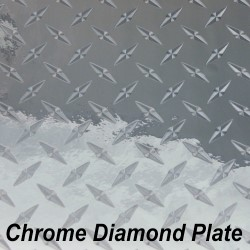 StarCraft Metal - Diamond Plate Silver