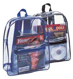 Liberty Clear Backpack